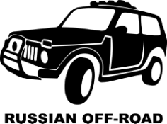 Russian Off Road Sticker Free CDR Vectors Art