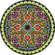 Mandala Free CDR Vectors Art