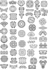 Celtic Ornaments Vector Pack Free CDR Vectors Art