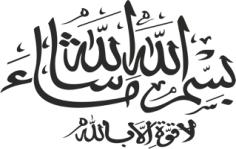 Bismillah Mashallah Vector Art Calligraphy Free CDR Vectors Art