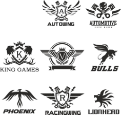 Technical Logo Collection Free CDR Vectors Art