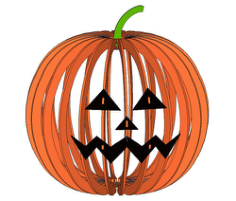 Halloween Lamp 2 Free CDR Vectors Art