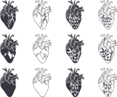 Heart Free CDR Vectors Art