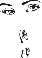 Woman Eyes Collection Free CDR Vectors Art