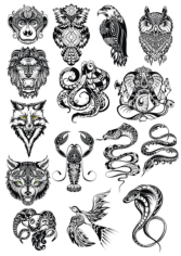 Animals Vector Art Set Free CDR Vectors Art