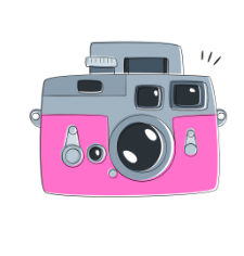 Camera Abstract Free CDR Vectors Art