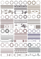 Decor Elements Free CDR Vectors Art
