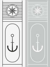 Anchor Sandblast Pattern Free CDR Vectors Art