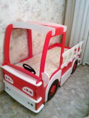 Car Kids Bed Laser Cut Free CDR Vectors Art