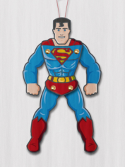 Superman Paper Puppet Free CDR Vectors Art