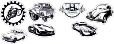 Auto Sticker Free CDR Vectors Art