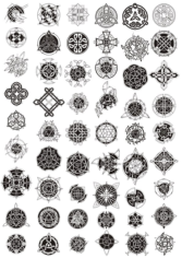 Celtic Ornament Vector Pack Free CDR Vectors Art