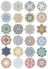 Lace Ornament Free CDR Vectors Art