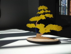 Bonsai Laser Cut Free CDR Vectors Art