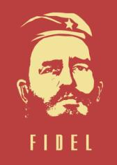 Fidel Castro Free CDR Vectors Art