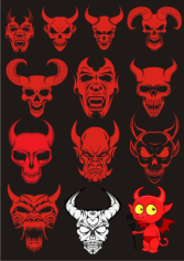Devils Sets Free CDR Vectors Art