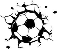 Soccer Ball Free CDR Vectors Art