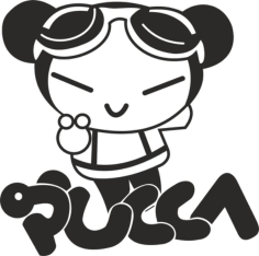 Pucca Free CDR Vectors Art