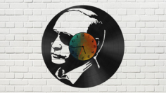 Putin Vinyl Clock Free CDR Vectors Art