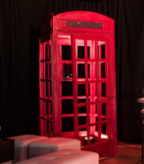 Red British Phone Box Laser Cut Plans Free CDR Vectors Art