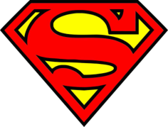 Super Man Logo Free CDR Vectors Art