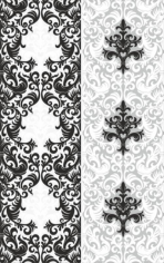 Vector Seamless Elegant Damask Sandblast Pattern Free CDR Vectors Art