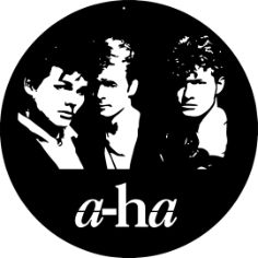 a-ha Vinyl Clocks Free CDR Vectors Art