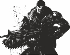 Gears Of War Free CDR Vectors Art