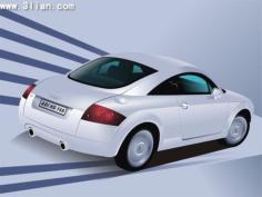 Car advertising banner modern 3d design Free CDR Vectors Art