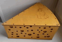 Cheese Box File Download For Laser Cut Free CDR Vectors Art