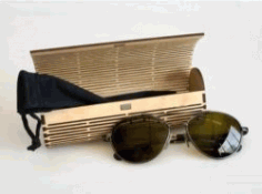 Wooden Eyeglasses Box File Download For Laser Cut Free CDR Vectors Art