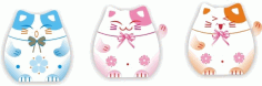 Japanese lucky cat Free CDR Vectors Art