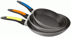 Frying Pan Free CDR Vectors Art