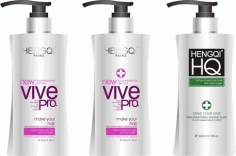Shampoo packaging Free CDR Vectors Art