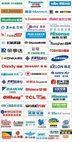 Electric appliance logo CDR Vectors Art