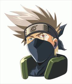 hatake kakashi avatar Free CDR Vectors Art