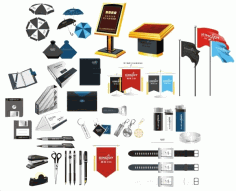 Office supplies-179877 Free CDR Vectors Art