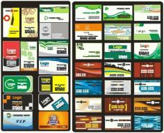 Vip membership card template Free CDR Vectors Art