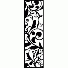 Cnc Panel Laser Cut Pattern File cn-l65 Free CDR Vectors Art
