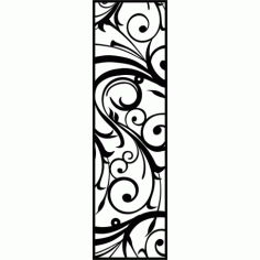 Cnc Panel Laser Cut Pattern File cn-l56 Free CDR Vectors Art