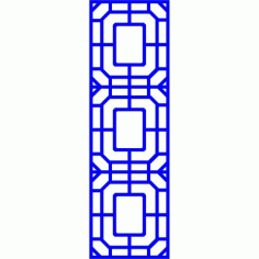 Cnc Panel Laser Cut Pattern File cn-l55 Free CDR Vectors Art