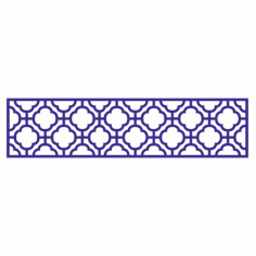 Cnc Panel Laser Cut Pattern File cn-l47 Free CDR Vectors Art