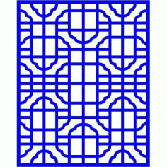 Cnc Panel Laser Cut Pattern File cn-l30 Free CDR Vectors Art