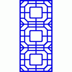 Cnc Panel Laser Cut Pattern File cn-l27 Free CDR Vectors Art