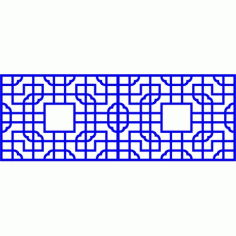 Cnc Panel Laser Cut Pattern File cn-l25 Free CDR Vectors Art