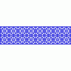 Cnc Panel Laser Cut Pattern File cn-l14 Free CDR Vectors Art