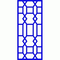 Cnc Panel Laser Cut Pattern File cn-l13 Free CDR Vectors Art