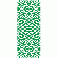 Cnc Panel Laser Cut Pattern File cn-h353 Free CDR Vectors Art