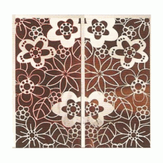 Cnc Panel Laser Cut Pattern File cn-h350 Free CDR Vectors Art