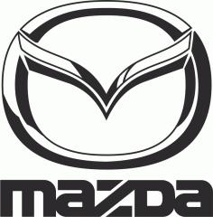 Mazda Black Vector Logo Free CDR Vectors Art
